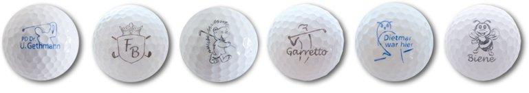 Golfball-Motiv