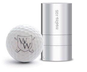 Golfballstempel zum Bedrucken von Golfbällen