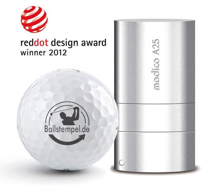 Sie sind auf der SUCHE nach einem originellen Geschenk für Golfer! Der Golfballstempel ist das Geschenk für jeden Golfer!