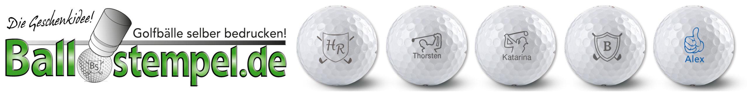 Der Golfballstempel, die Geschenk Idee für Golfer