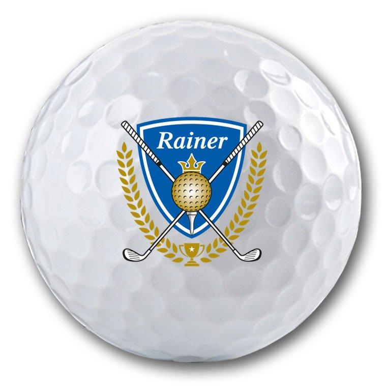 Golfbälle bedrucken, die Geschenk Idee für Golfer