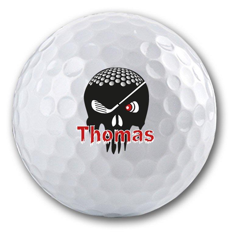 Originelle Motive auf einem Golfball - Golfballdruck