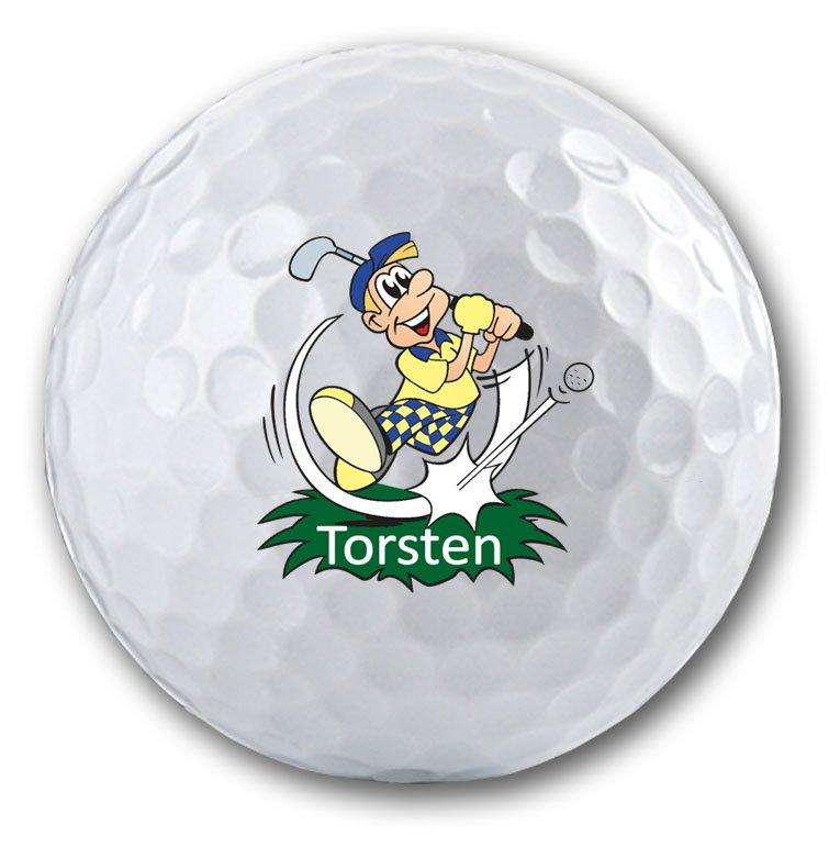 Golfmotiv für Golfballdruck