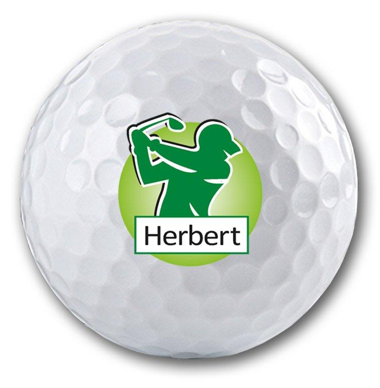 Personalisierter und bedruckter Golfball
