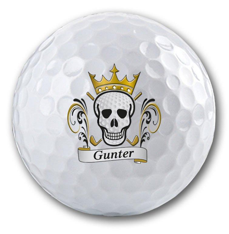 Golfball mit Totenkopf bedrucken