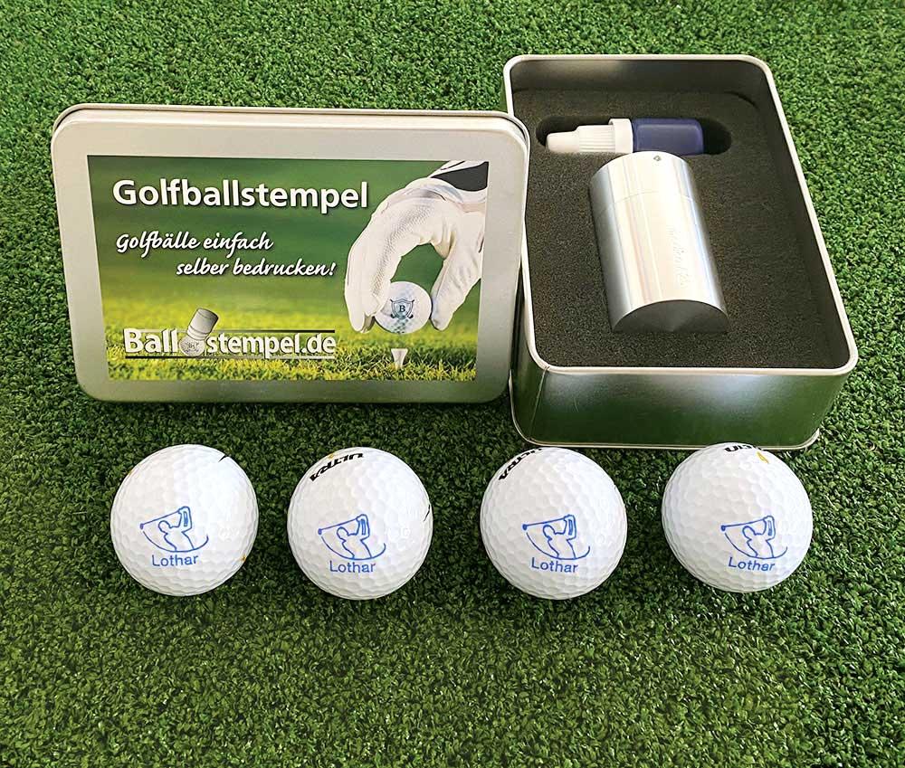 Der Golfballstempel - Golfballmarker ist die Geschenkidee für Golfer