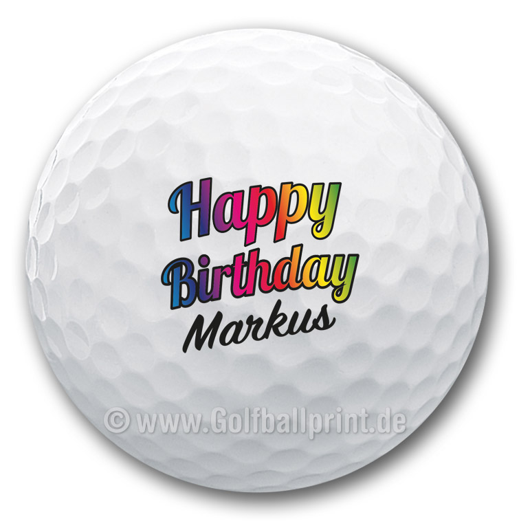 Die Geschenkidee für Golfer zum Geburtstag.