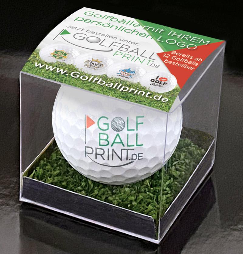 Originelle Verpackung für Golfbälle